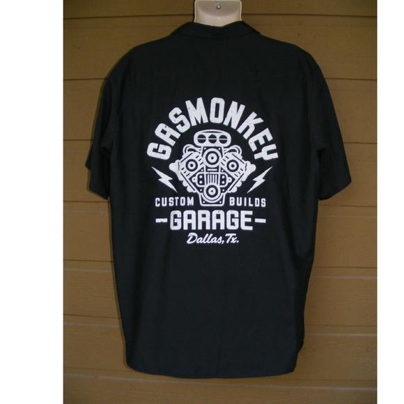 1df07e63f6f0 Red Kap Shirts | Gas Monkey Garage Shirt Xl Button Down Logo | Poshmark